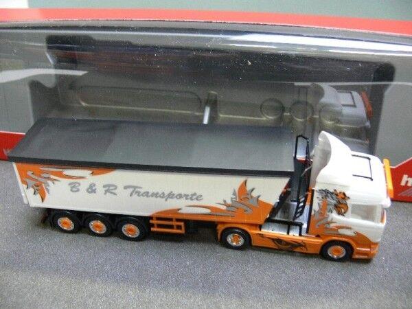 1 87 Herpa Scania R HL b&r transports Arrow Hunter stöffelliner-SZ 306287