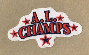 1998 CLEVELAND INDIANS - 1997 AMERICAN LEAGUE CHAMPIONS AUTHENTIC UNIFORM PATCH
