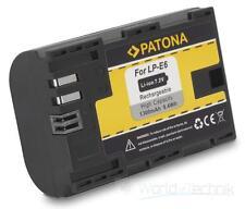 Akku Batterie accu battery für CANON EOS 70D, 60D, 60Da, 7D, 6D 5D Mark II / III