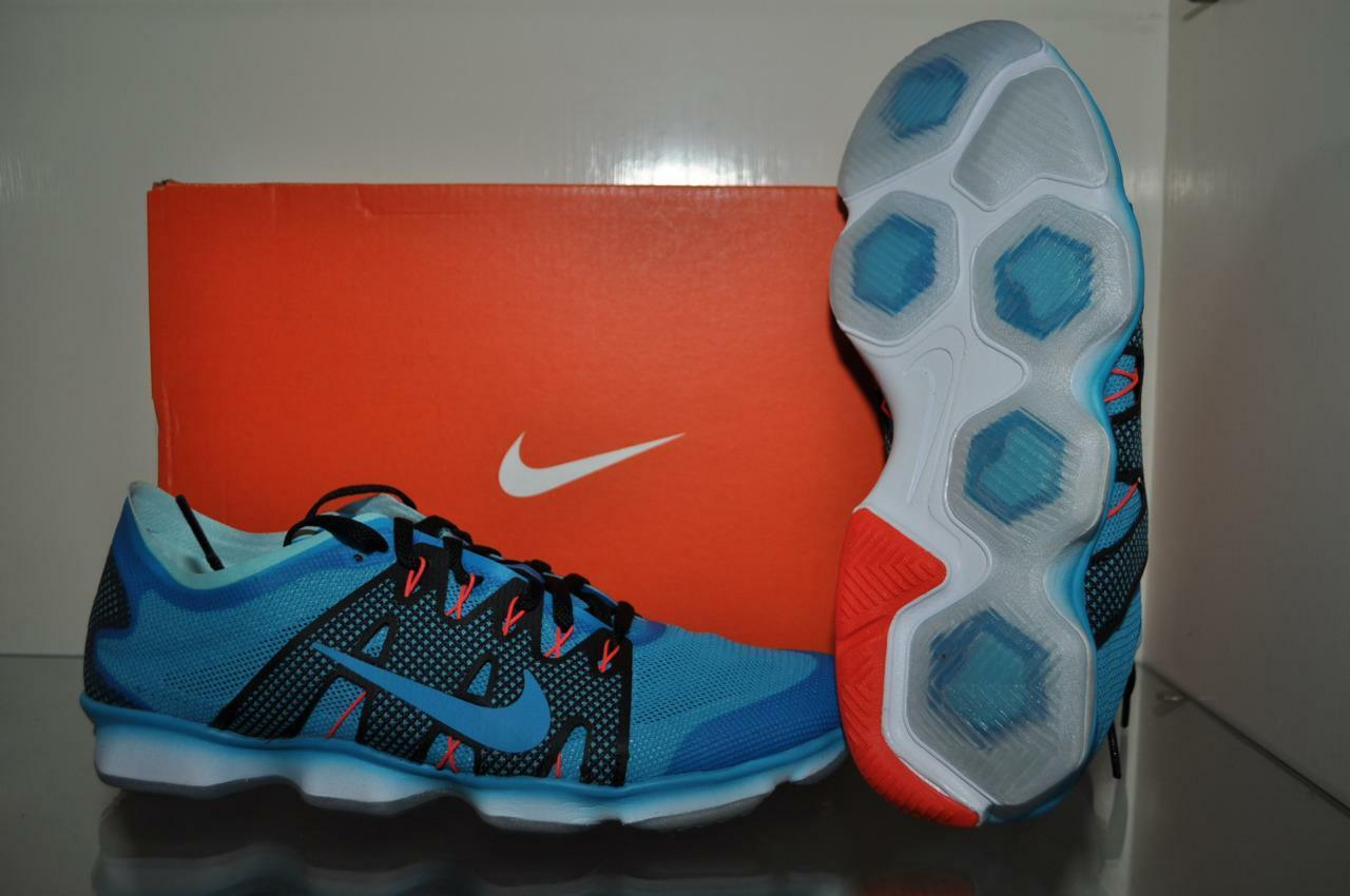 Nike Air Zoom Fit Agility 2 Womens Running shoes 806472 400 bluee Size 8.5 NIB