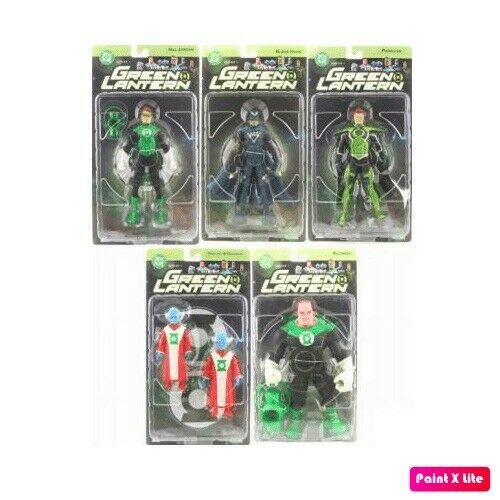 DC Direct Green Lantern Series 1 Action Figure Set of 5 Figures Hal Jordan