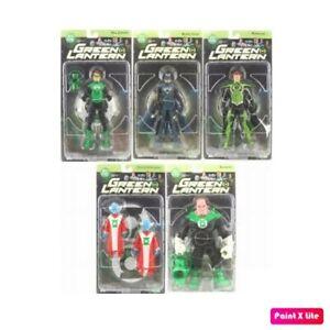 Dc Direct Green Lantern Série 1 Figurine Ensemble De 5 Figurines Hal Jordan