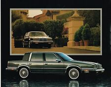 1988 Chrysler NEW YORKER Brochure with Color Chart: LANDAU