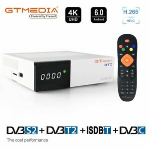 GTMEDIA-GTC-TV-BOX-Android-6-0-Amlogic-Quad-Core-WIFI-4K-DVB-S2-T2-Media-TV-CAJA