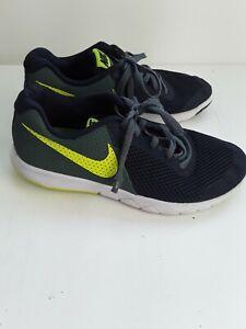 Boys Jnr Nike Trainers Sport Green Blue