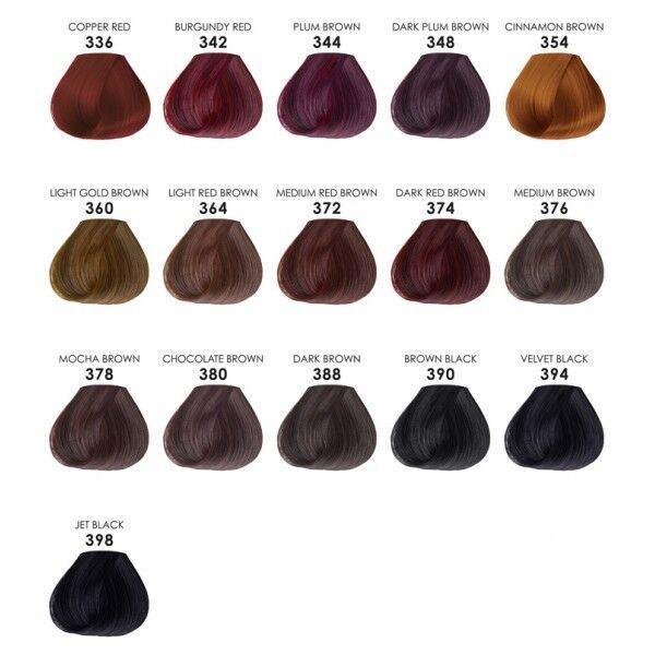 Adore Plus Extra Conditioning Semi Permanent Color 348 Dark Plum Brown 100ml