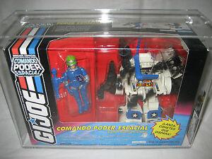 Afa 80 Combat Gi Joe Power Fighter Mexique Engrenages Figure Robot Costume Mib Scellé Jouet