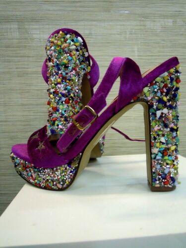 Pumps Glitter Boho Theme Vendita anni Style 39 Party Sandal 5 Hippie Shrill '70 71BTwPxB