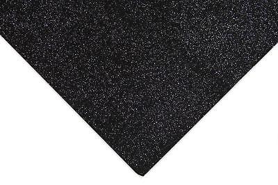 Esmerado Fieltro 10x Negro Brillo Acrílico 10 Pieza 23x30cm Herramienta De Costura Artesanía Hobby