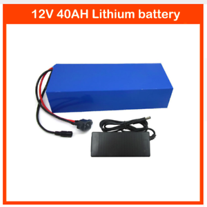 Lithium-Battery-40AH-12V-Volt-Rechargeable-Portable-Prospecting-Solar-Camping