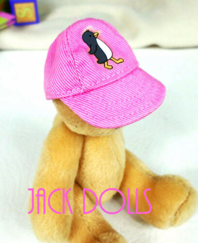 American Girl Doll Bitty Baby Bitty Bear Size Wild Thing HAT ONLY Penguin Pink
