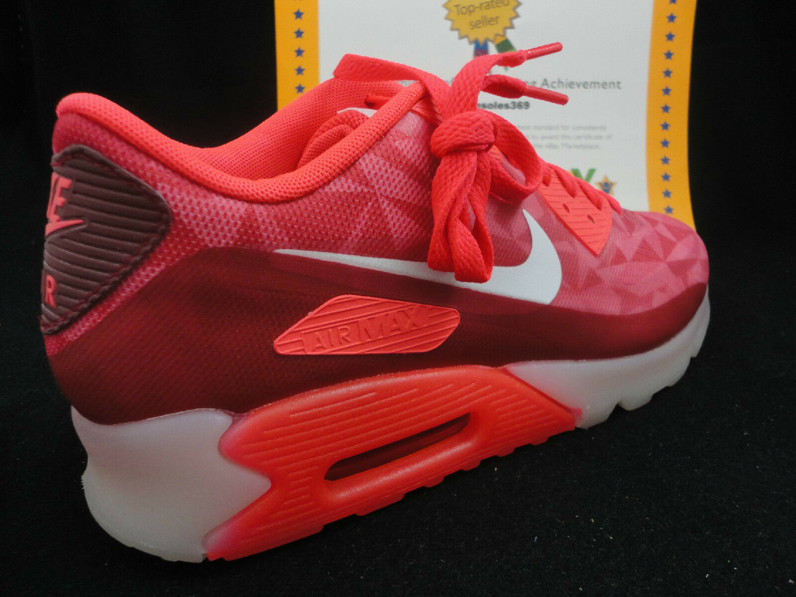 Nike Air Red, Max 90 Ice, Laser Crimson / Legion Red, Air Limited, Size 12 98f00d