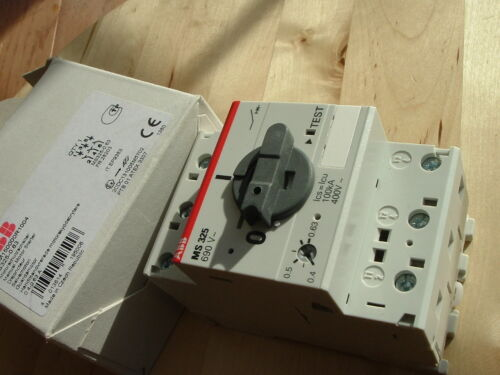 NEW! ABB 1SAM150000R1004, MS3250.63 Manual Motor Starter