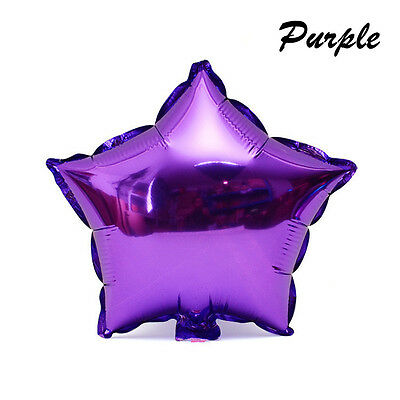 """Beautiful 18"""" Star Foil Balloon For Birthday Wedding Parties 7 Colors to Choose"""