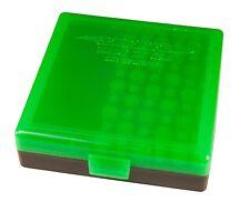 BERRYS AMMO BOXES (4) ZOMBIE GREEN/BLACK 22LR 45 ACP 10MM 40 S&W 100 rd 008
