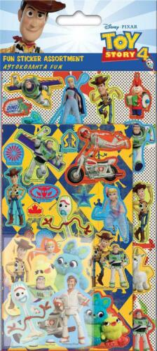 Disney TOY STORY 4 Colouring Stickers Stationery Birthday Christmas Xmas Gifts