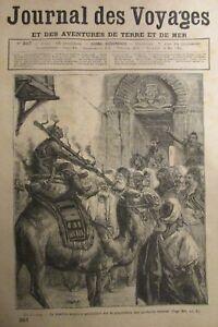 Zeitung-der-Voyages-Nr-357-von-1884-M-urs-Egypte-die-Folter-und-die-Folter