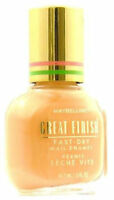 Lot Of 10 Maybelline Great Finish Nail Polish - Almost Nude - 305
