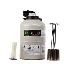 Us Solid Liquid Nitrogen Tank Ln2 Storage Container Dewar 3l6l10l20l30l
