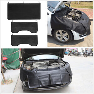 3Pcs-Car-Fender-Covers-Protect-Paintwork-Magnetic-Wing-Cover-Paint-Repair-Tool