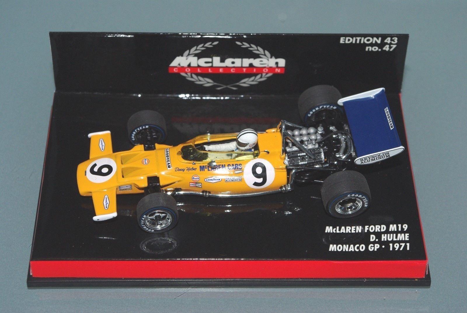 Minichamps F1 1 43 McLaren Ford M19-Denny Hulme-Monaco GP 1971