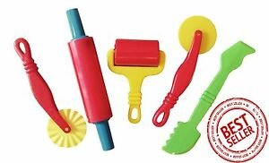 Play-Dough-Tools-Play-Set-For-Kids-Set-Of-5-Pastry-Clay-Pizza-Doh-Children-Toys