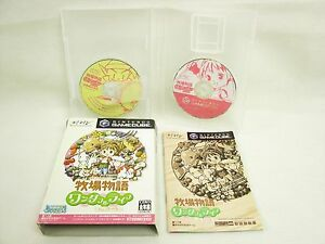 BOKUJO-MONOGATARI-Wonderful-Life-for-GIRL-Item-ref-ccc-Game-Cube-Nintendo-gc