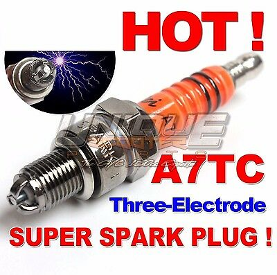 New Spark Plug A7TC TORCH for GY6 50cc 80cc Moped Scooter Motorcycle Brand