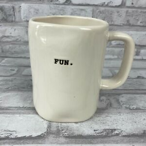 Rae-Dunn-Blue-034-Fun-034-Mug-Artisan-Collection-by-Magenta