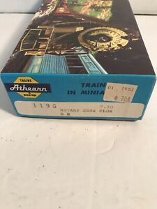Athearn-1196-HO-Scale-GN-X-1610-Rotary-Snow-Plow-Car-Kit-Assembled-in-Box-Works