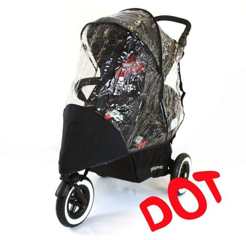 Dot RC Raincover Phil And Teds DOT Double Tandem Rain Cover