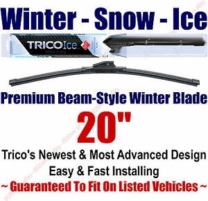 20-WINTER-Wiper-Blade-Super-Premium-Beam-Style-2010-2014-Trico-ICE-35-200