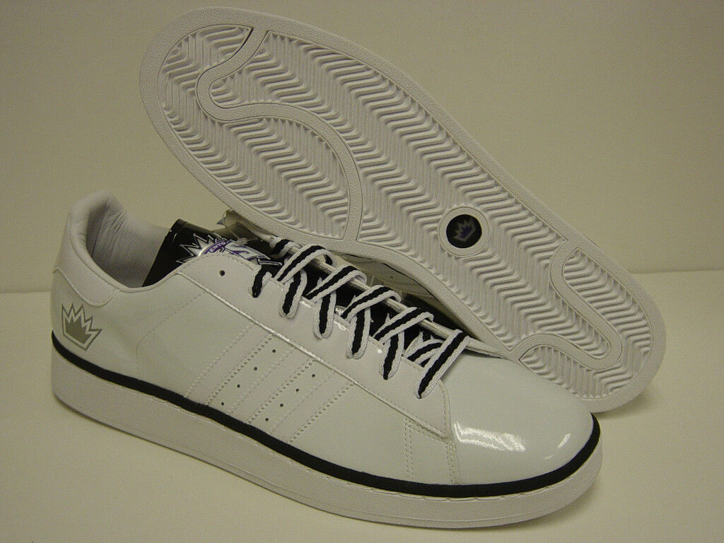 NEW Mens Sz 18 ADIDAS Campus II KINGS NBA 044312 Sneakers Shoes best-selling model of the brand