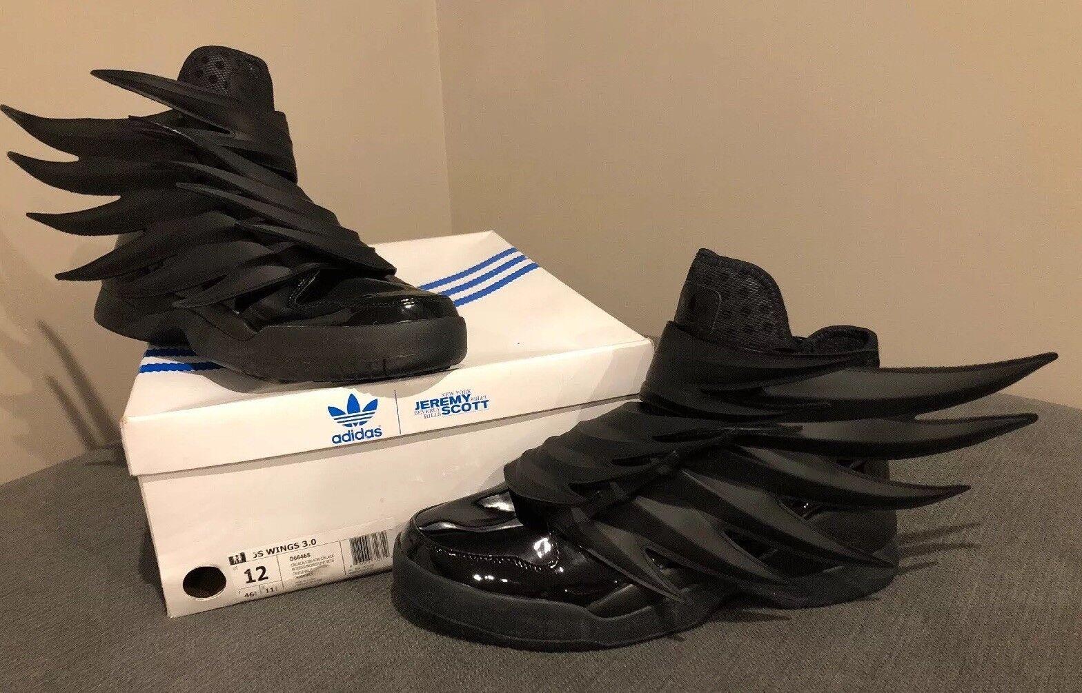 Adidas Jeremy Scott, Wings 3.0, Dark Knight Batman, D66468, Size 12, RARE