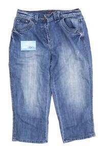 Womens-ItsDenim-Blue-Denim-Shorts-Size-10-L21