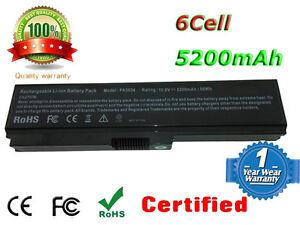 6 cell laptop battery toshiba satellite c660 c660d c665 pabas227 rh ebay co uk Toshiba Satellite Pro C650 Toshiba Satellite C650 Series