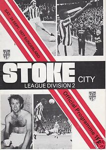 STOKE-CITY-V-SUNDERLAND-2ND-DIVISION-24-9-77