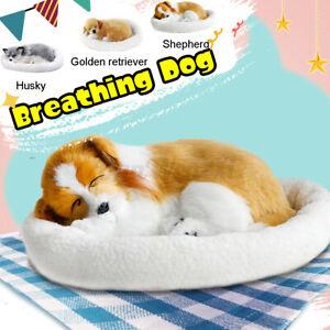 Lifelike-Animated-Breathing-Stuffed-Dog-Plush-Toys-Child-Home-Decor-Kids