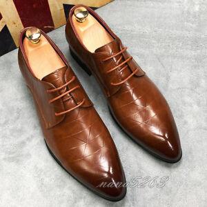 low priced 7cf1f d5e53 Details zu Spitz Business-Schuhe Herren Modern Freizeit Work Schuhe  Hochzeit Formell Schuhe