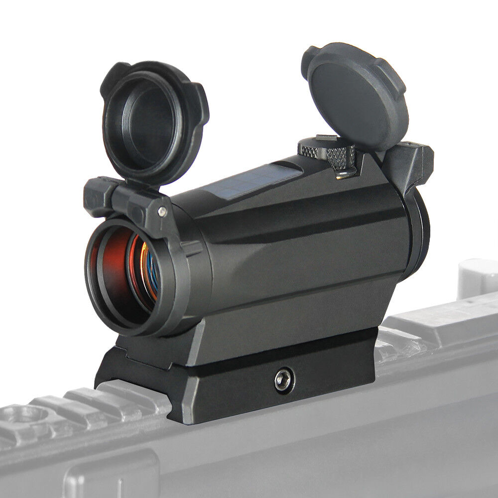 Tactical 1x20 Red Dot Scope Sight 2MOA Solar Energy Sight Scope