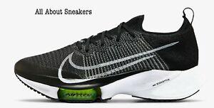Nike-Air-Zoom-tempo-prossima-034-Nero-Bianco-B-034-Uomo-Scarpe-da-ginnastica-Tutte-le-TAGLIE-STOCK