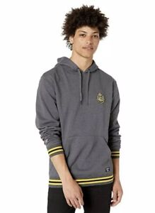 Details about Vans x Harry Potter Pullover Hoodie Hogwarts Crest Asphalt Heather Mens SZ S New