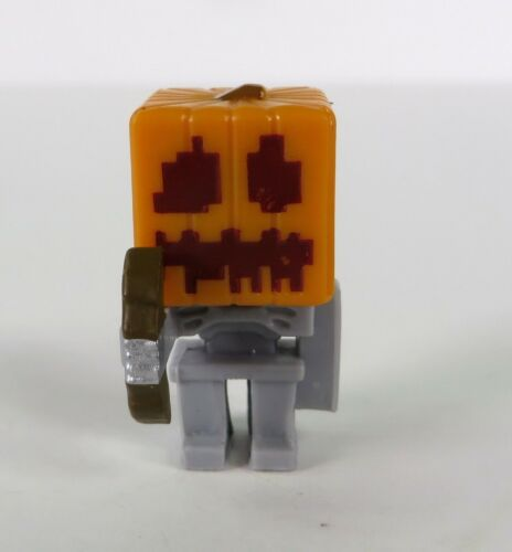 Minecraft Minifigure Chest Series 1 Mystery Minis Skeleton Pumpkin Figure NEW