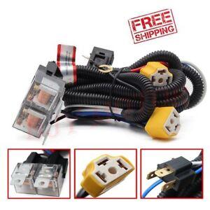 image is loading 2-headlight-h4-headlamp-light-bulb-ceramic-socket-