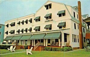 VIRGINIA-BEACH-VA-AVAMERE-HOTEL-2604-OCEAN-FRONT-SWIM-IN-THE-ATLANTIC-POSTCARD