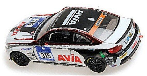 BMW M 235i racing 24 24 24 H Nürburgring 2014 équipe AVIA Racing #315 1:43 MINICHAMPS bc7633