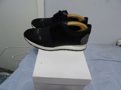 pelle da Hamaki 8 scamosciata uomo in ho Sneakers tessuto in Made taglia Uk nera Italy 8qdEn6w