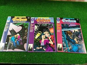 DC-COMICS-BATMAN-GOTHAM-NIGHTS-1-2-3-1992-VFN-FIRST-ISSUES