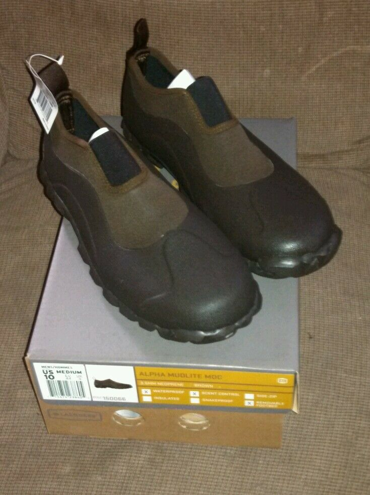 LACROSSE MUDLITE MOC WATERPROOF SLIP ON SIZE 8 BOOTS NEW SAVE  30