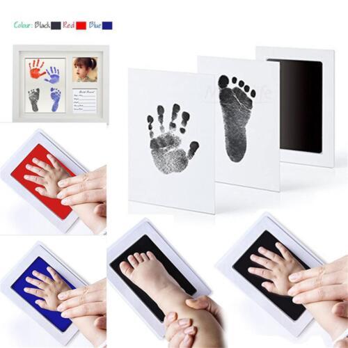 Infant Newborn Inkless Hand Foot Print Keepsake Feet Hands Printing Shower IN9